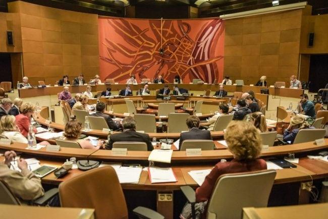 Le conseil municipal en juin (Photo Pascal Bastien / Rue89 Strasbourg)