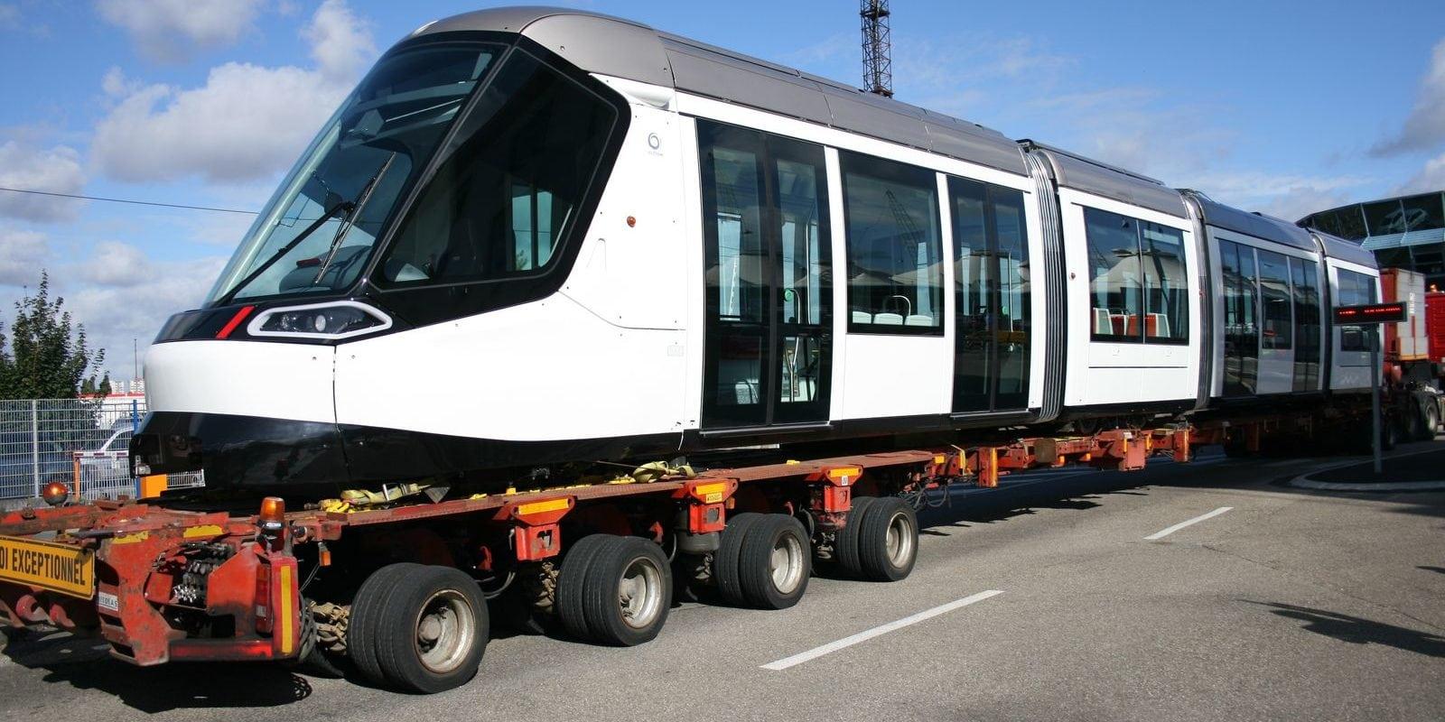 La CTS reçoit de nouvelles rames de tram pour franchir le Rhin