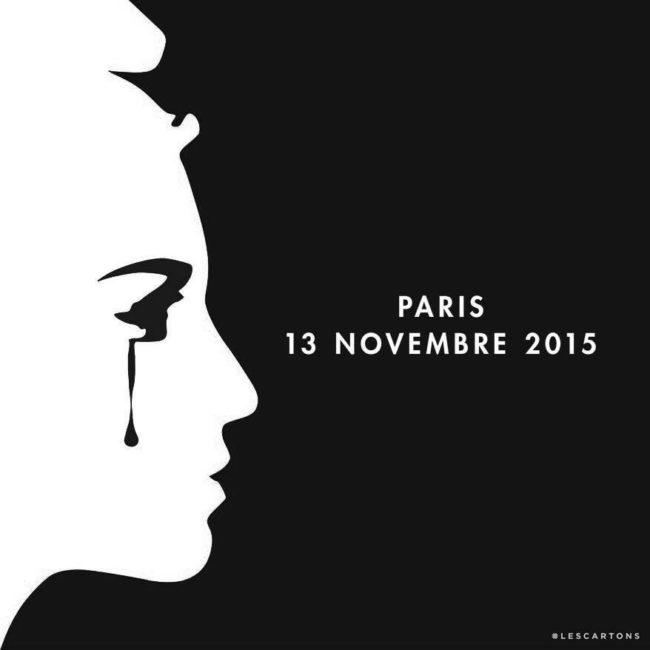 Rassemblement à Strasbourg un an après les attentats du 13 novembre 2015 à Paris.