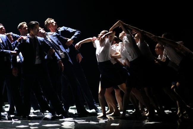 "Anna-Maria Maas dans ""Cupidon s'en fout"" (Photo JL Tanghe)"