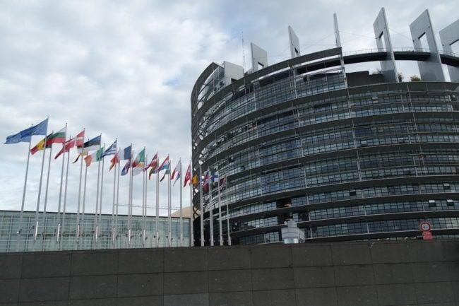 Le Groupe Pflimlin défend le siège unique du Parlement Européen à Strasbourg (Photo DL/ Rue 89 Strasbourg/ cc)
