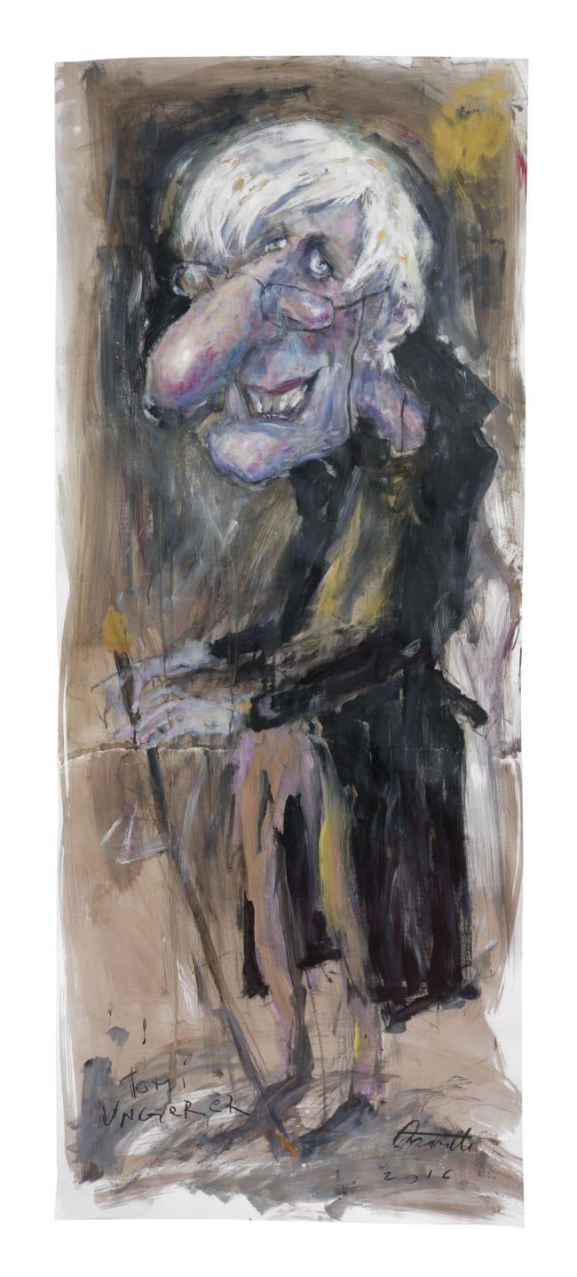 Tomi Ungerer vu par Christian Antonelli (Image Christian Antonelli)