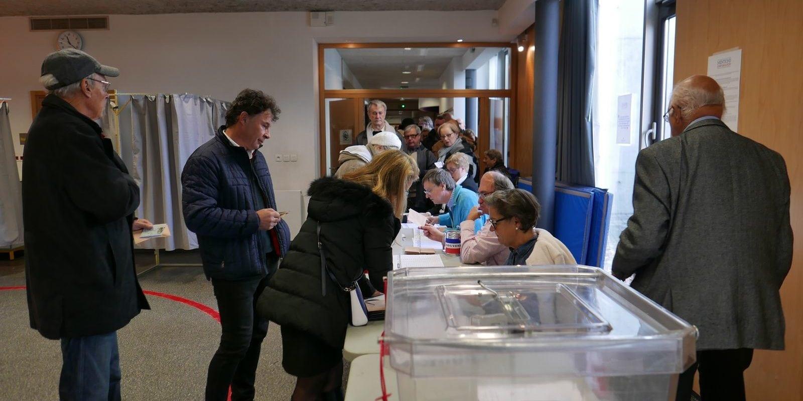 Primaire de droite: forte mobilisation à la Robertsau