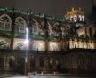 Place du Château, plusieurs points lumineux sur un même lampadaire (Photo DL/Rue 89 Strasbourg/cc)