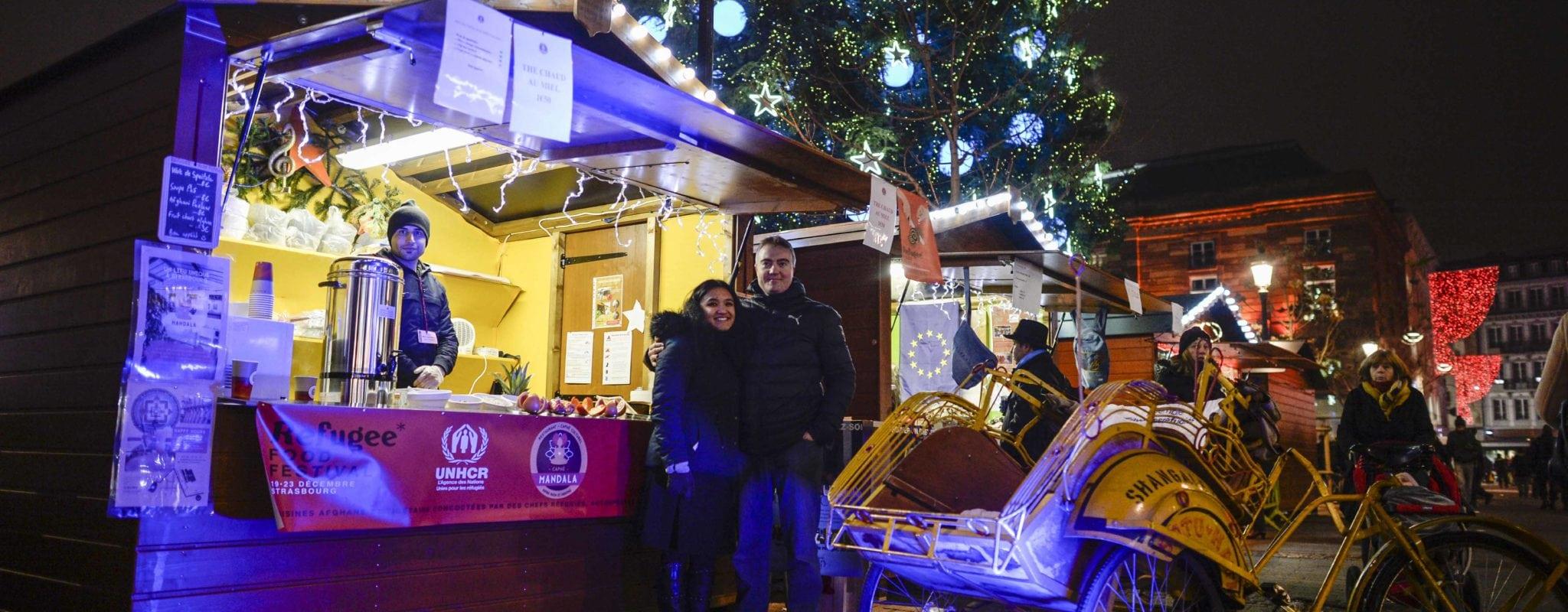 C'est le Refugee Food Festival à Strasbourg : business, engagement et gourmandise