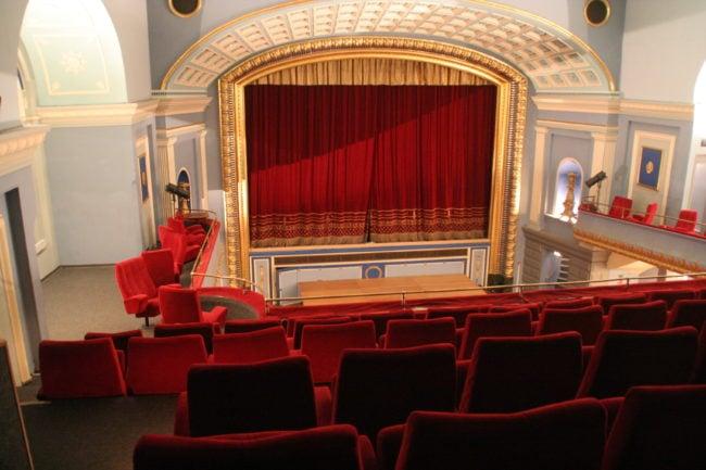 La grande salle rénovée du cinéma Odyssée (Photo Wikimedia Commons / cc)