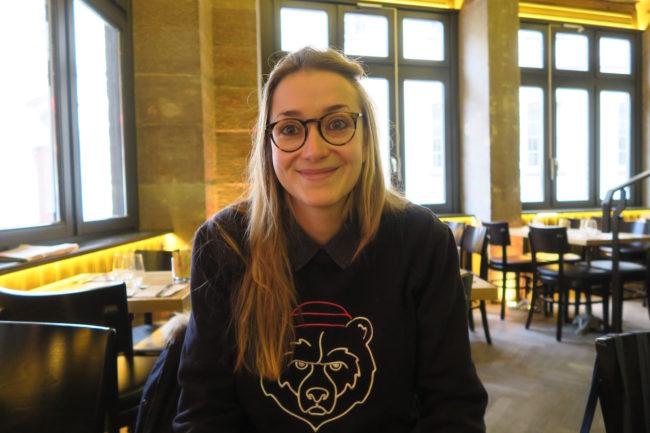 Lorraine Niss, coordinatrice du Refugee Food Festival sur Strasbourg pour Food Sweet Food (Photo MB / Rue89 Strasbourg)
