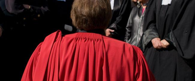 Magistrat au tribunal (Photo Pascal Bastien)