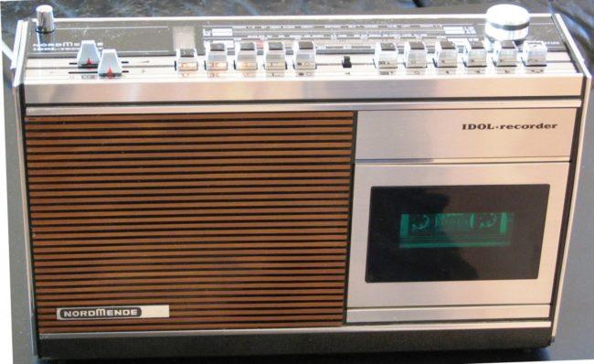 Le Nordmende Idol Radio Recorder, le top de la technologie en 1973, ne pourra pas diffuser la radio des découvertes du Grand Est (Photo Wikimedia Commons / cc)