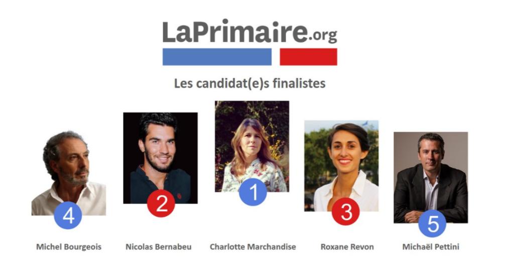 Rencontre et débat avec les 5 finalistes de La primaire.org