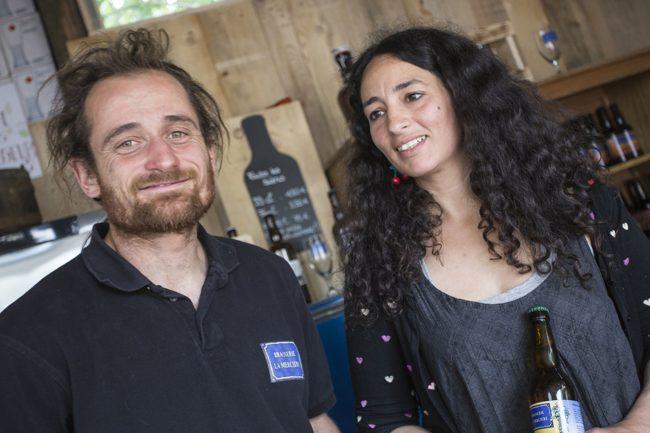 Franck et Imène Julich (Photo La Mercière / doc remis)