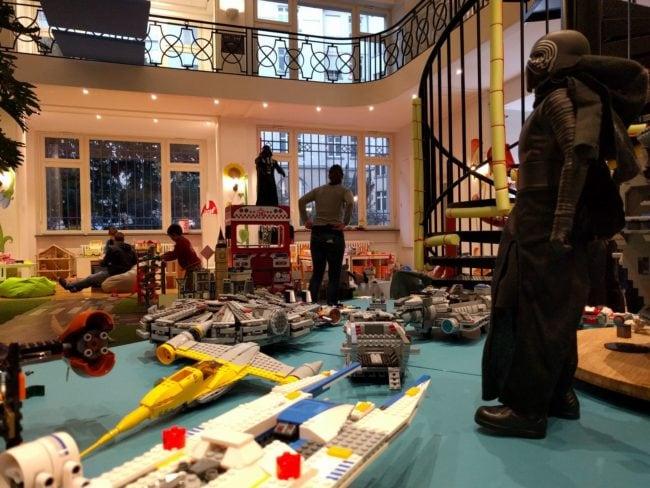 L'univers Star Wars est très présent à tous les étages... (Photo PF / Rue89 Strasbourg / cc)