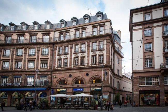 L'Odyssée dispose d'un emplacement de choix, rue des Francs-Bourgeois (Photo Claude Truong-Ngoc / Wikimedia Commons / cc)