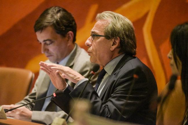 La non-augmentation des impôts suffira-t-elle pour maintenir l'assemblée dans le calme ? (Photo Pascal Bastien)