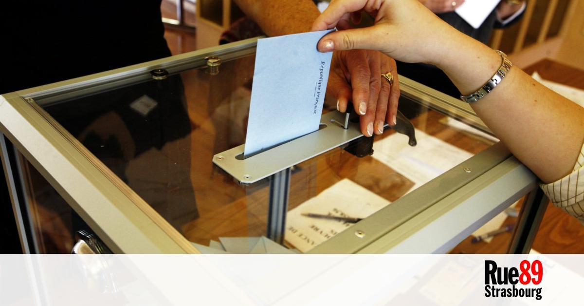 deux bureaux de vote strasbourg testent d 39 autres modes de scrutin pour le premier tour. Black Bedroom Furniture Sets. Home Design Ideas