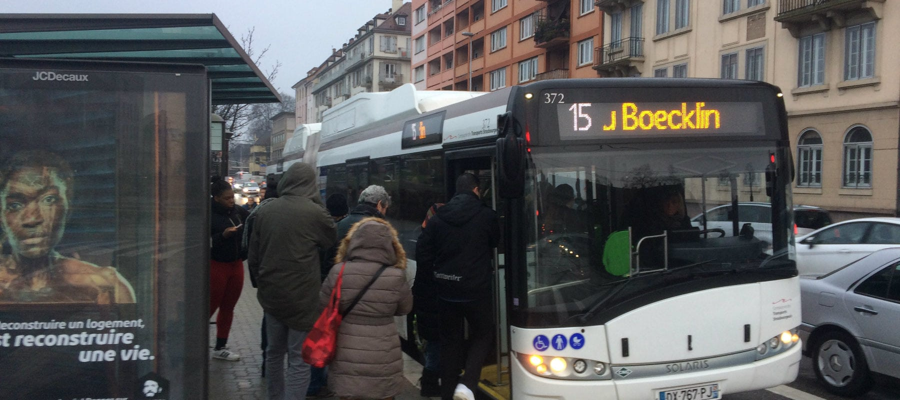 Dans les bus de la CTS, l'imprévu coûte 30 centimes de plus