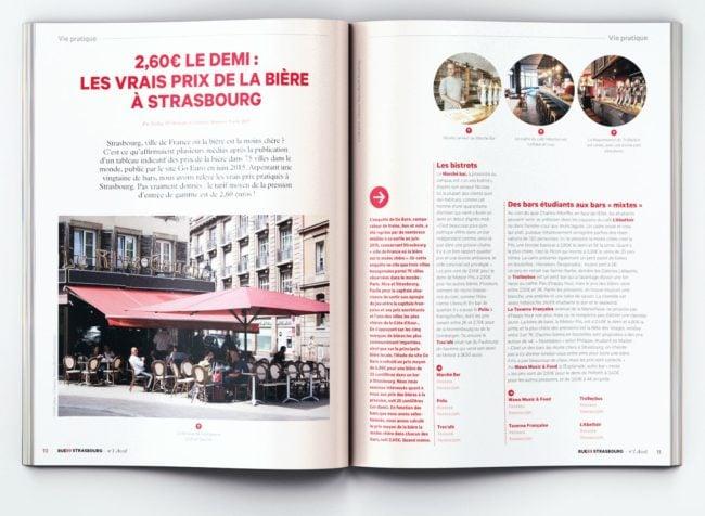 Rue89 Strasbourg imprimé, c'est pas mal aussi finalement... (Cercle Studio)