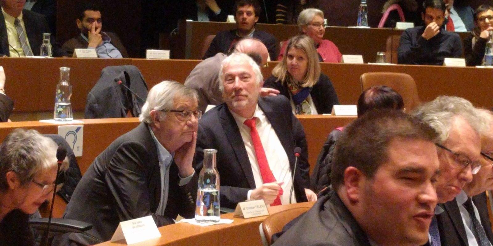 À l'Eurométropole, Robert Herrmann réélu, petits couacs dans sa majorité