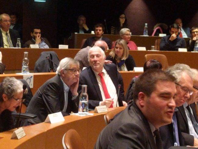 Patrick Depyl, maire (DVD) de La Wantzenau, a brisé le consensus de la coalition (Photo PF / Rue89 Strasbourg / cc)