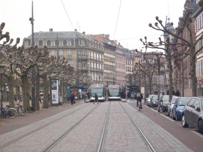 Depuis 7 ans, les critères pour circuler à tarif préférentiel sur le réseau CTS n'ont pas évolué (Photo DL / Rue 89 Strasbourg / cc)