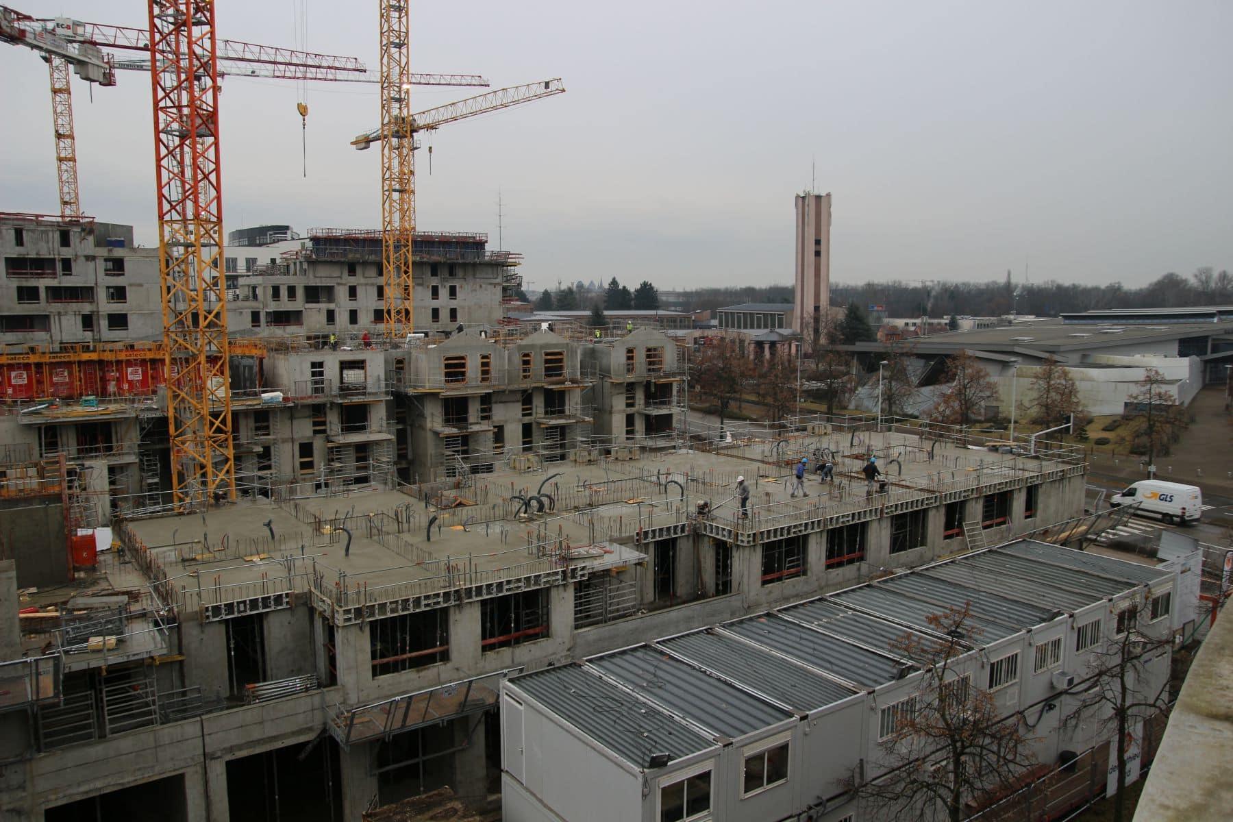 Strasbourg un projet immobilier va bouleverser le for Projet appartement