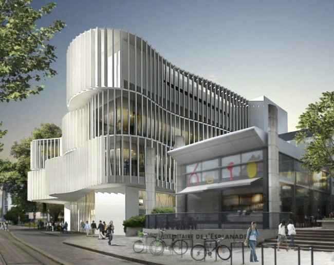 Le budget du Studium est estimé à 30,2 millions d'euros (architecte Jean-Pierre Lott)
