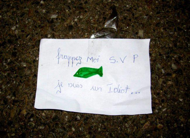 Une note près du collège de la Robertsau (Photo François Schnell / FlickR / cc)