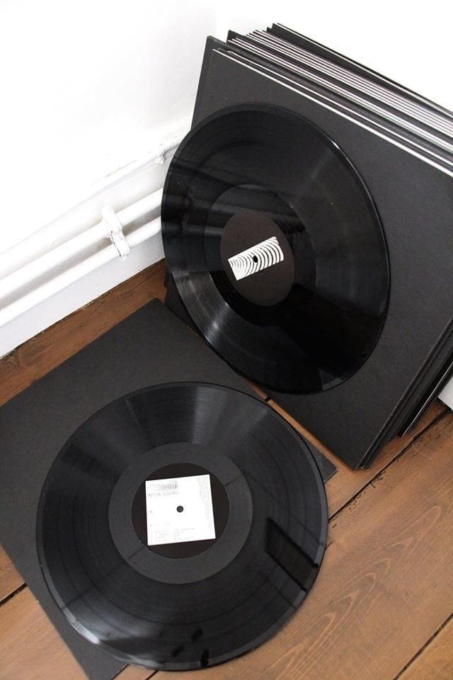 Le premier disque de Motion Sequence (Photo ES / Rue89 Strasbourg / cc)