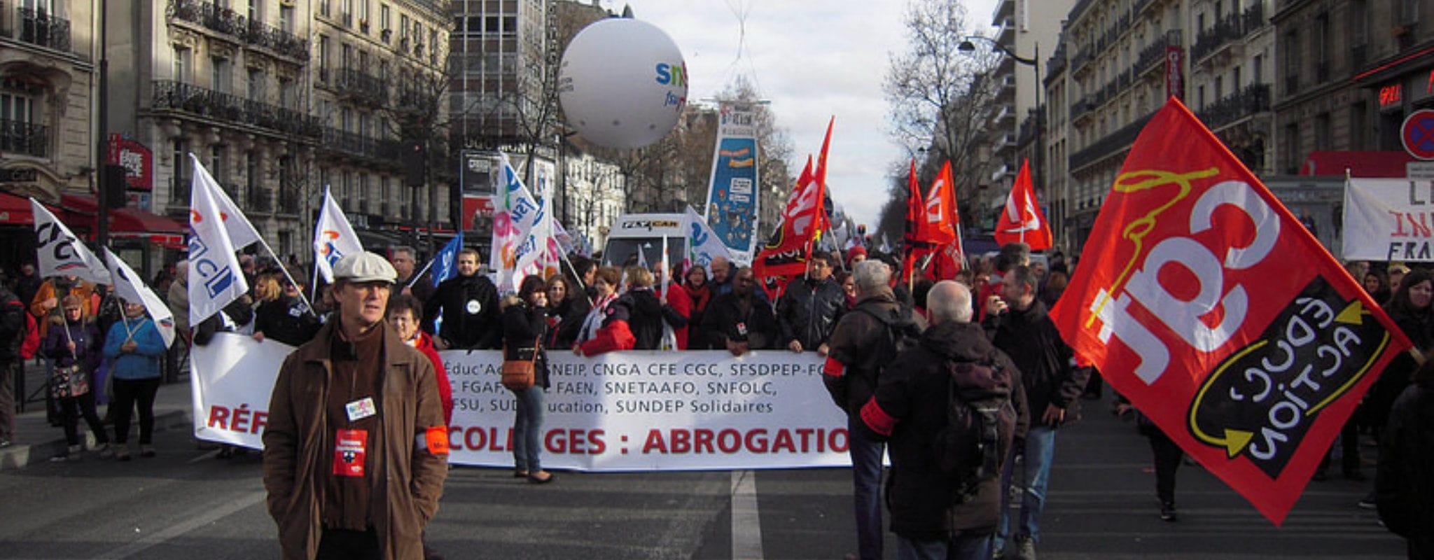 Journée d'action de la CGT et manifestation mardi 5 février