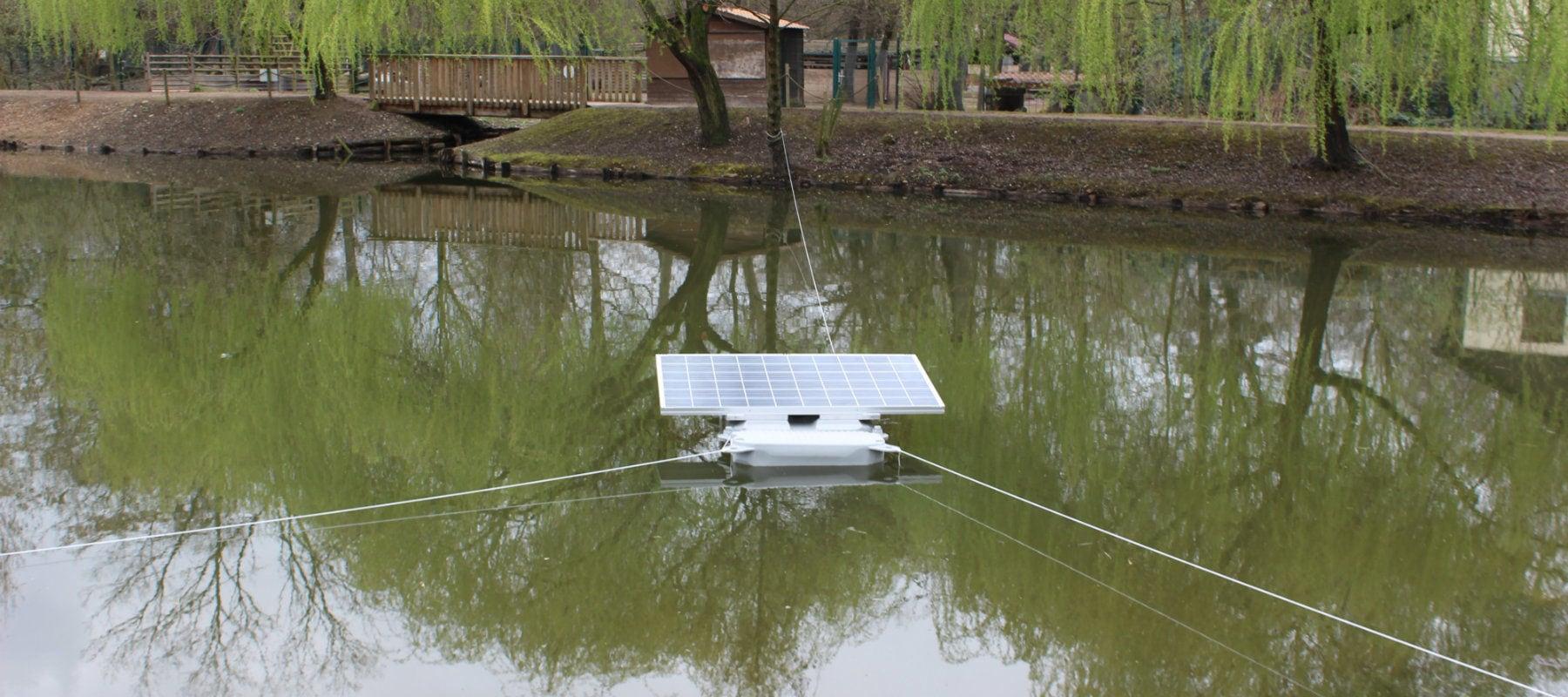 Illkirch veut recouvrir une partie de ses étangs de panneaux solaires