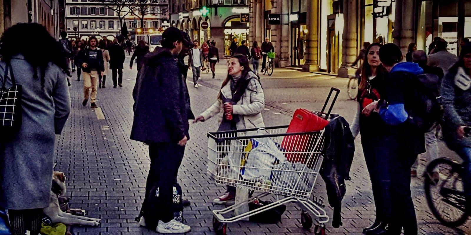 Bientôt une charte des actions de solidarité dans l'espace public strasbourgeois
