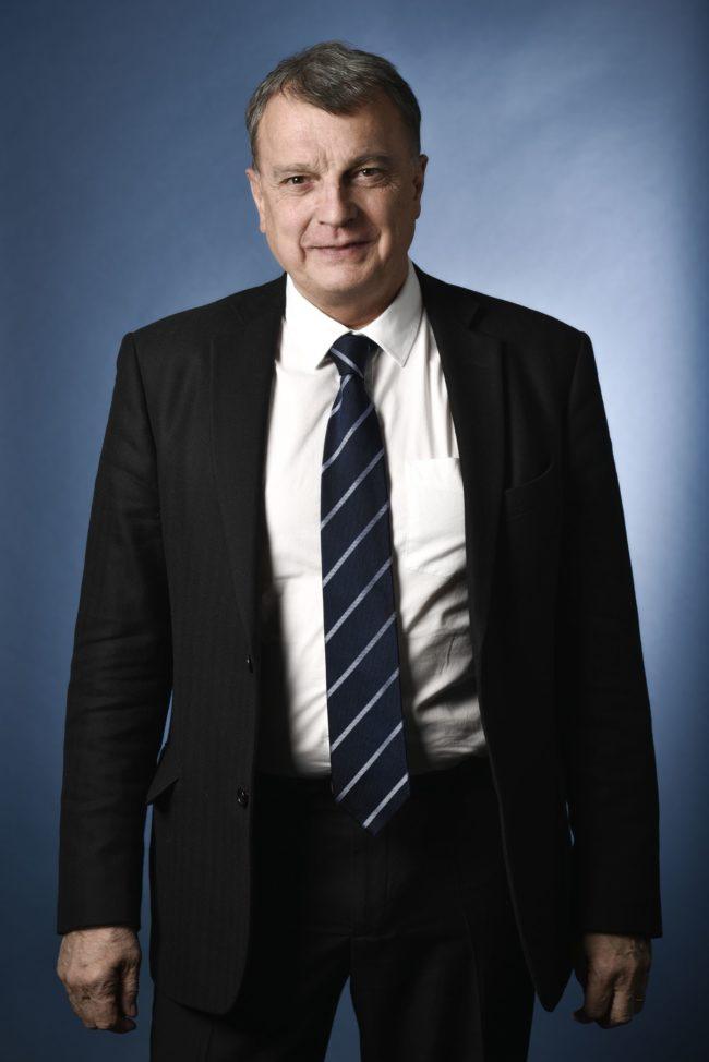 Christian Harbulot a co-fondé l'école de guerre économique avec le général Jean Pichot-Duclos (doc remis)
