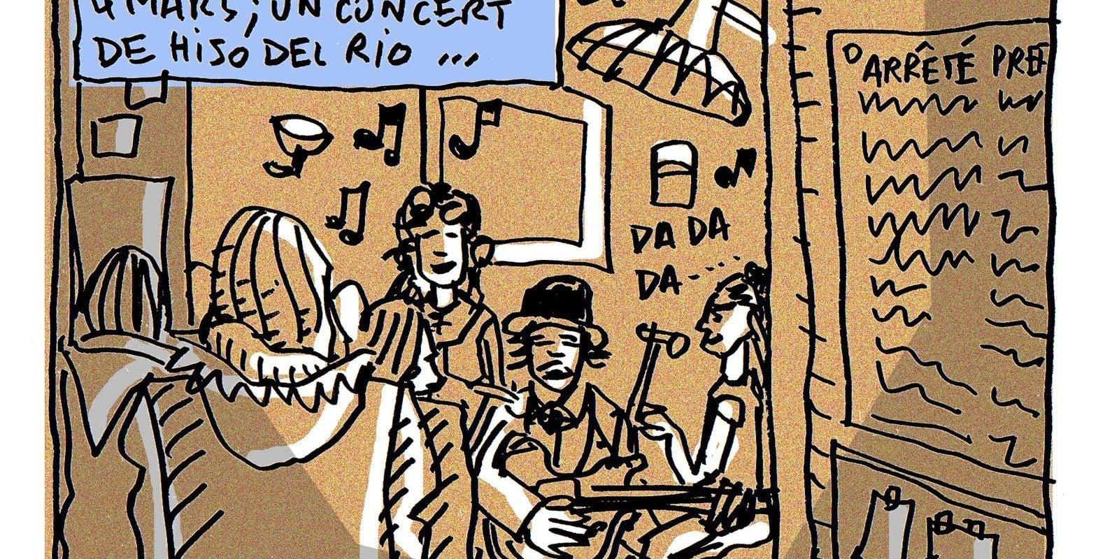 Musique espagnole au Local