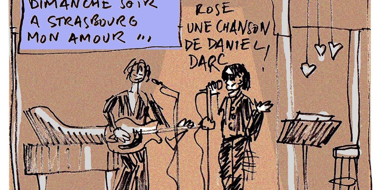 Dani en clôture de Strasbourg Mon Amour…