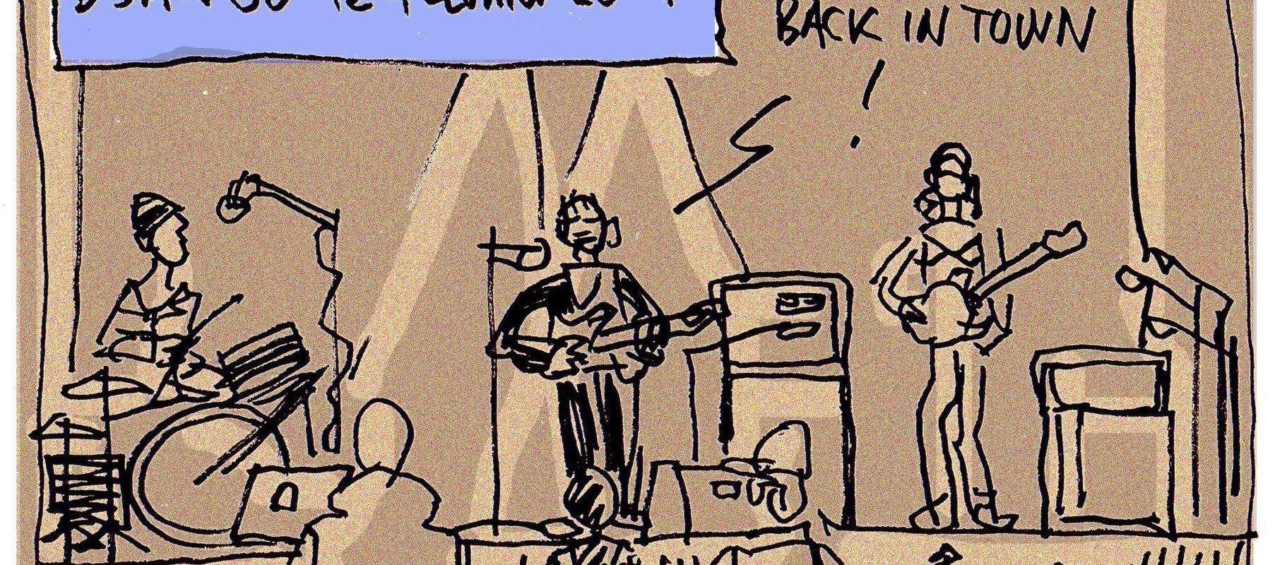 Le concert de OK Coral à Django…