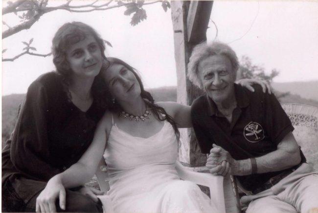 Aurélia, Camille et Marcel Marceau (doc remis)