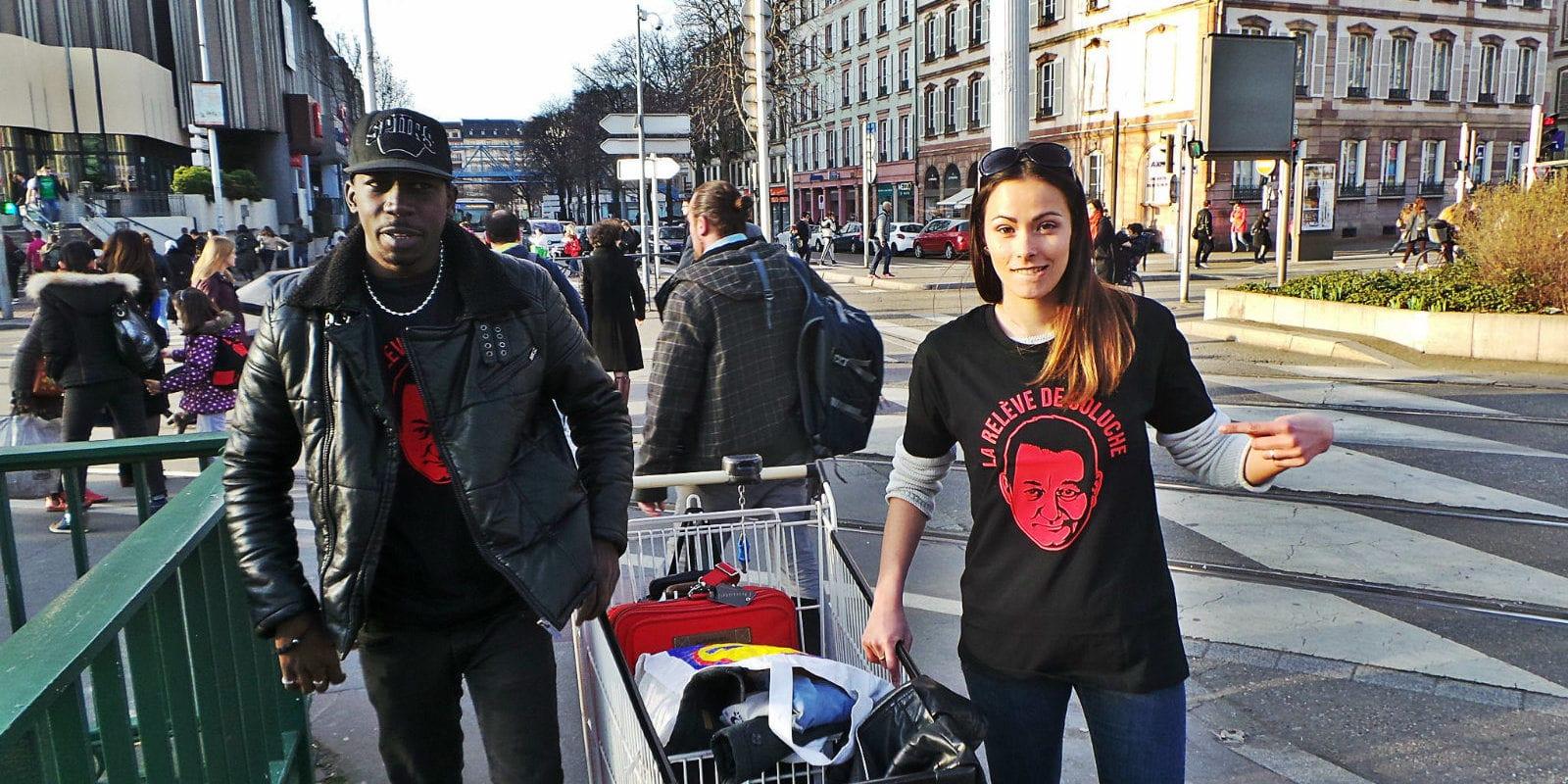 Comment des jeunes, passionnés de hip-hop, s'ajoutent aux tournées en faveur des sans-abris à Strasbourg
