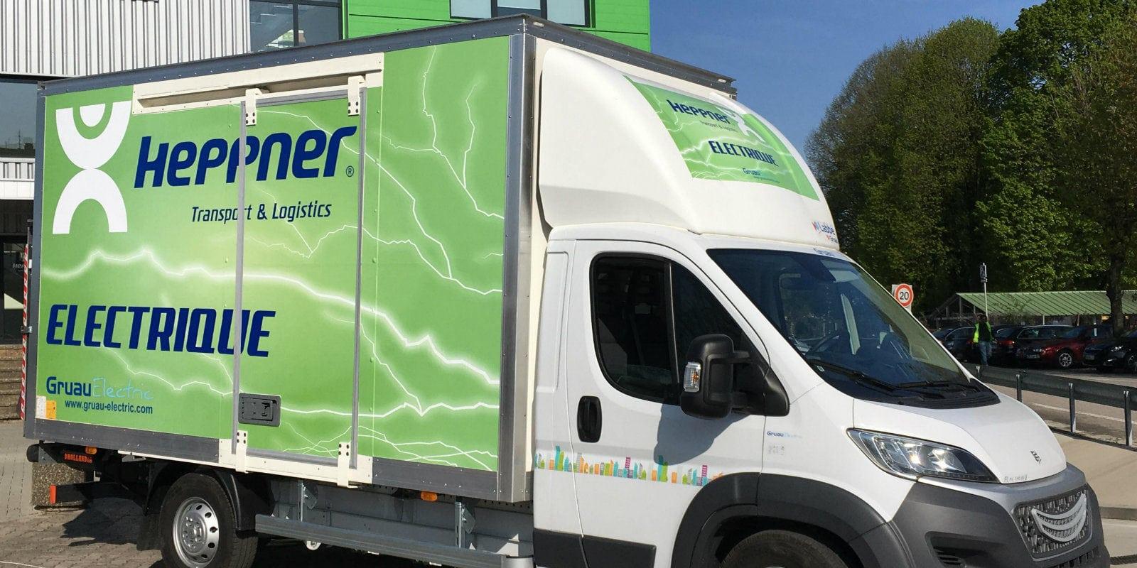Une première camionnette 100% électrique testée à Strasbourg