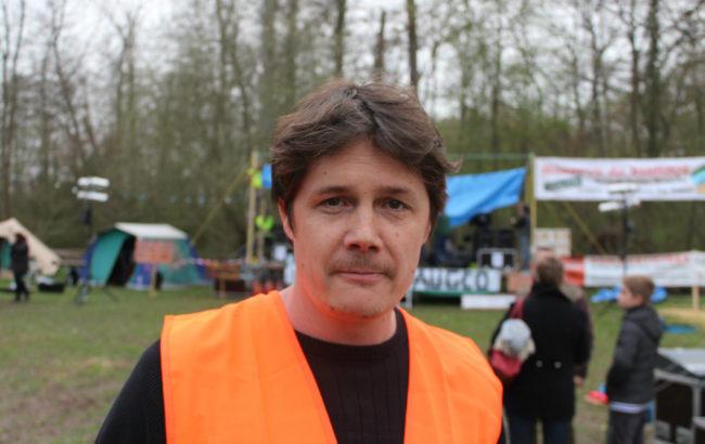 Guillaume Bourlier, initiateur des Bishnoï début 2016 (photo JFG / Rue89 Strasbourg)