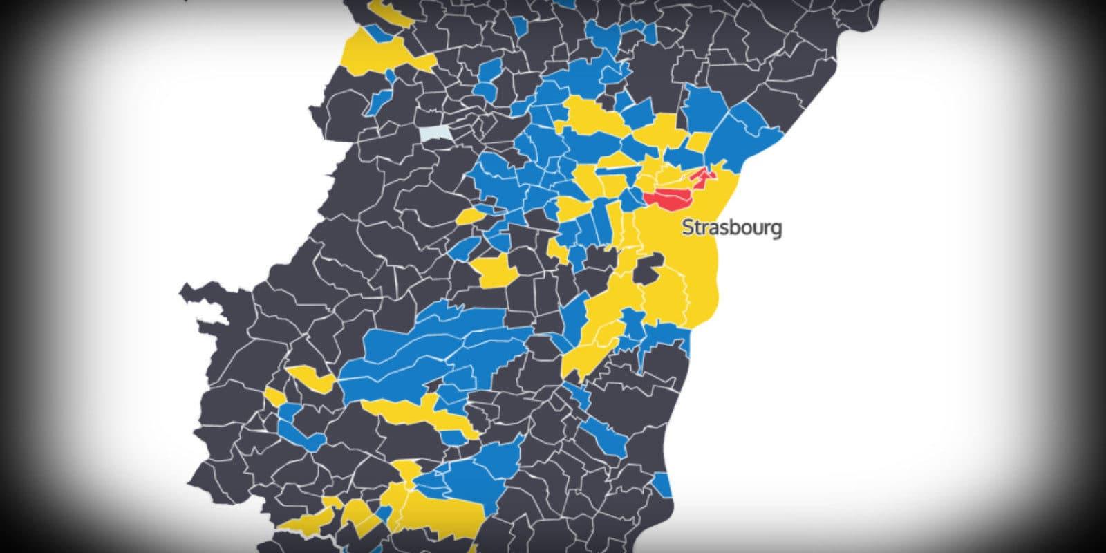 Présidentielle : en dehors des villes, le FN fait le plein en Alsace