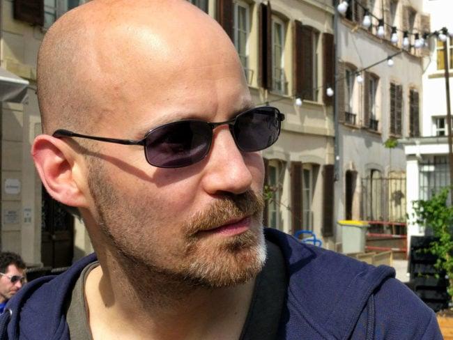 """Jean-Christophe Anne se définit comme un """"geek conscient"""". (Photo PF / Rue89 Strasbourg / cc)"""