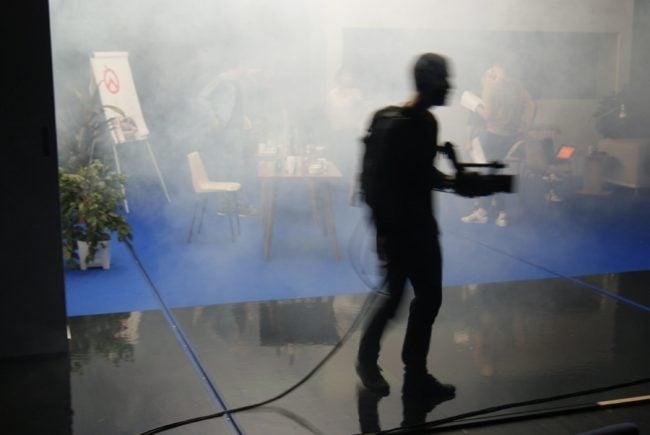 Répétitions de 1993, pièce de sortie du groupe 43 du TNS, mis en scène par Julien Gosselin. Juin 2017 (photo KZ/Rue89 Strasbourg)