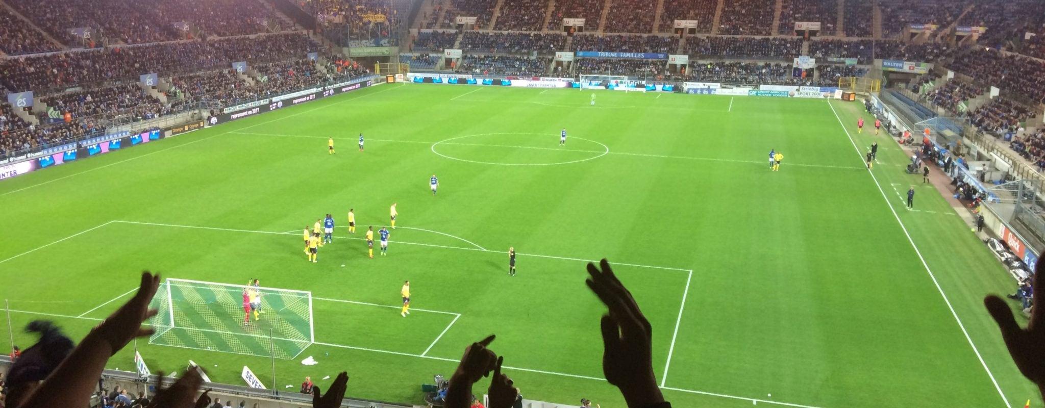 Racing : un léger agrandissement du stade de la Meinau pour la Ligue 1 à l'étude