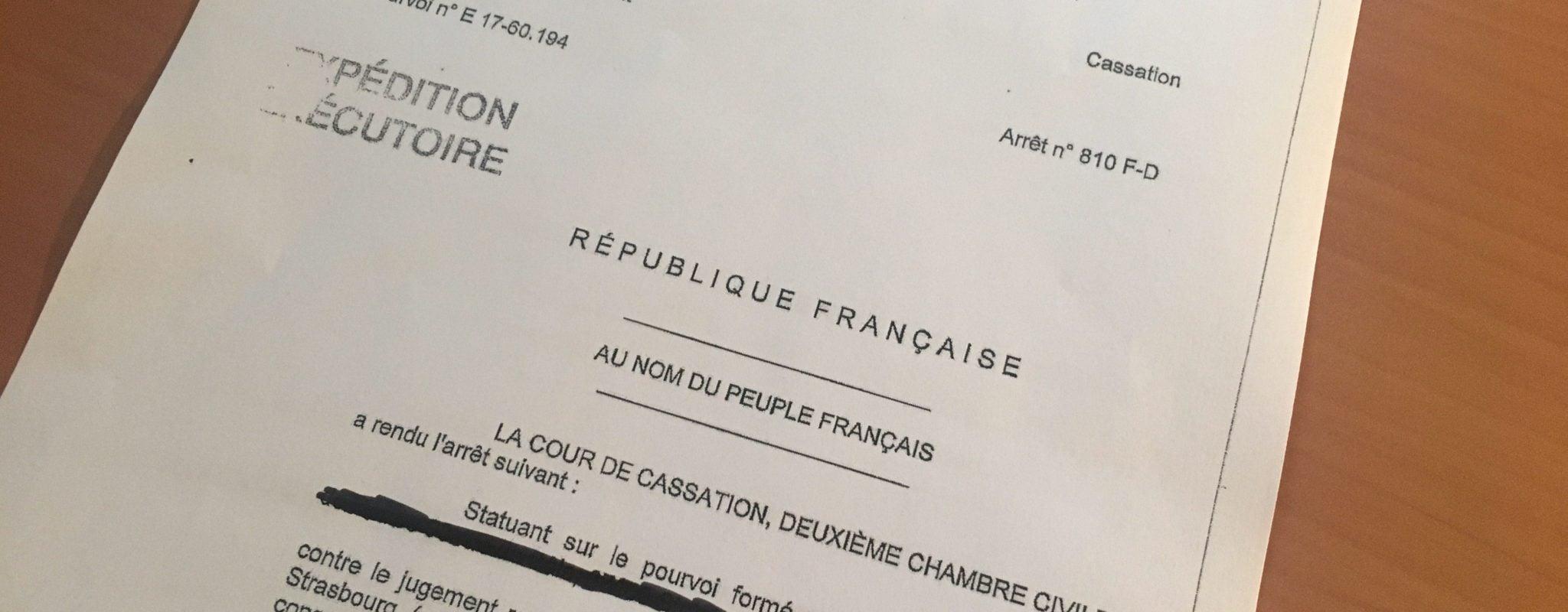 La Cour de Cassation contraint le tribunal d'instance de Strasbourg à s'intéresser aux radiés des listes électorales