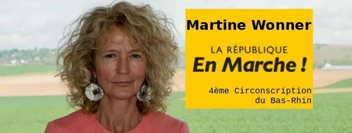 L'arrêt maladie suspect de Martine Wonner, candidate «En Marche» dans le Kochersberg