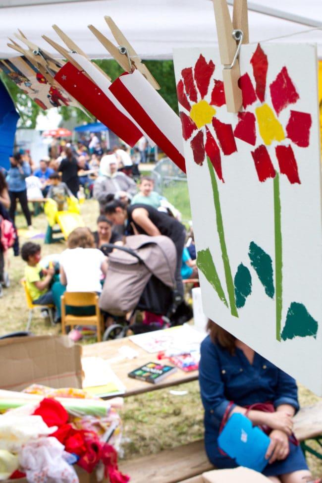 Des jeux, des activités ludiques ou artistiques sont organisés le samedi 20 mai au parc Schulmeister (Eurométropole de Strasbourg / Photo Elyxandro Cegarra)