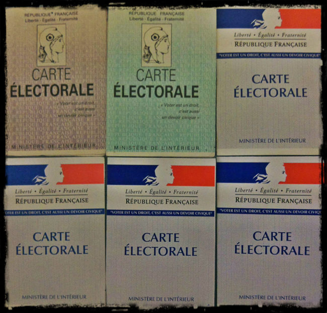 Des cartes électorales (Photo Olivier Panza / FlickR / cc)
