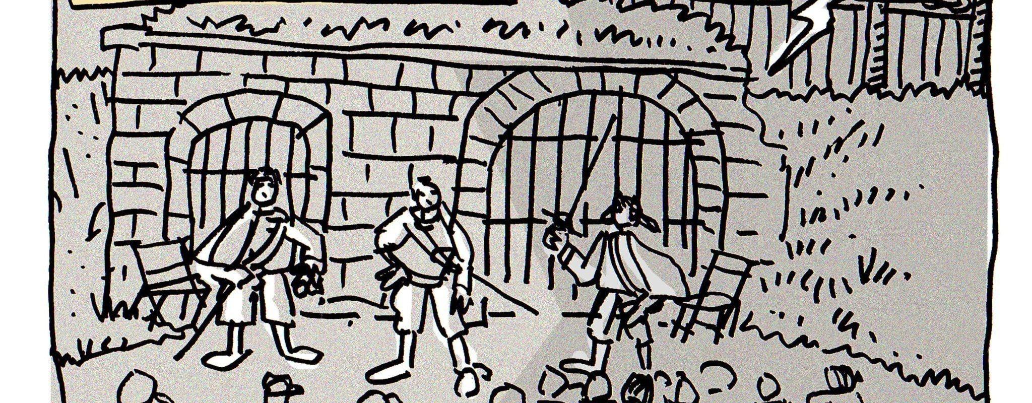 Les mousquetaires à la Citadelle