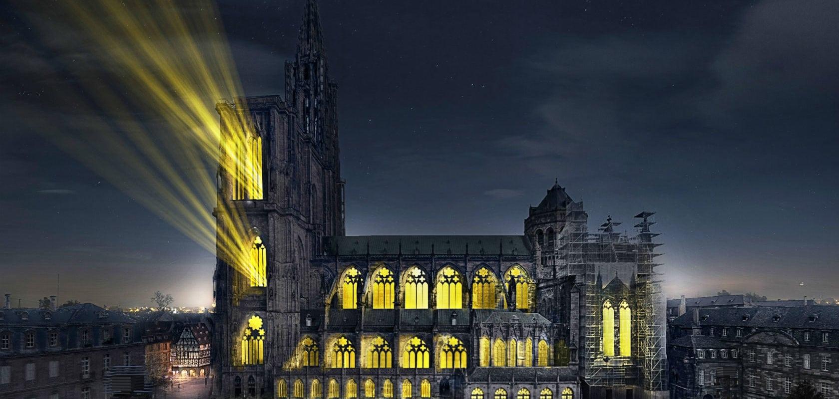 «Le ballet des ombres heureuses», une immersion autour de la Cathédrale cet été