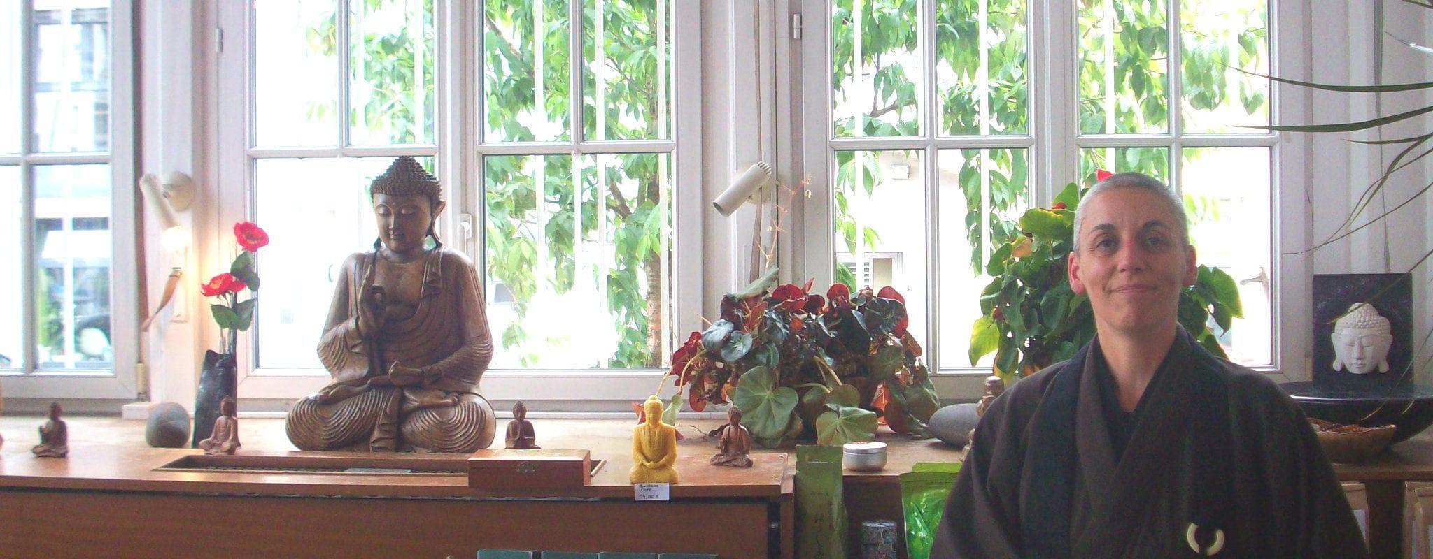 Kankyo Tannier, la nonne bouddhiste 2.0 qui sème des graines de zen